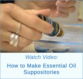 essential oil suppositories
