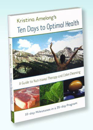 Photo of Kristina Amelong's Book: Ten Days to Optimal Health