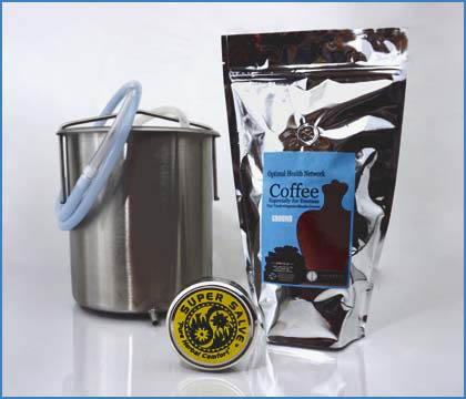 Click Here To Buy Coffee Enemas and Coffee Enema Kits