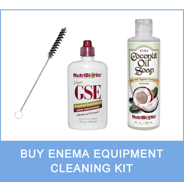 enema equipment cleaning kit