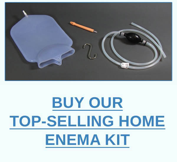 Click Here To Buy Our Top-Selling Home Enema Kit