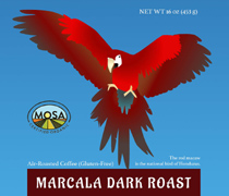 photo of Marcala Dark Roast Coffee Package