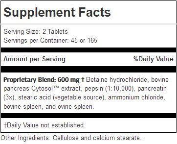 Zypan ingredients