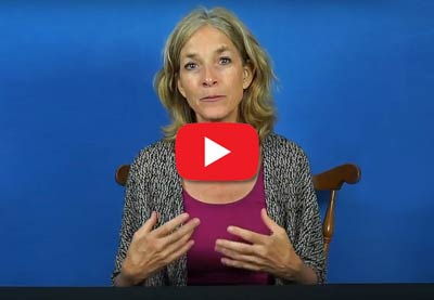 Short Video by Kristina Amelong: What's the Best Body Position for Taking Enemas?