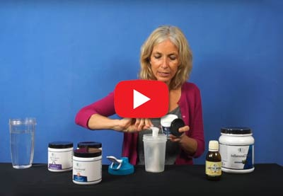 Short Video by Kristina Amelong: Kristina's Ideal Supplement Shake
